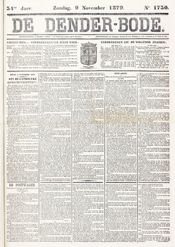 De Denderbode 1879-11-09