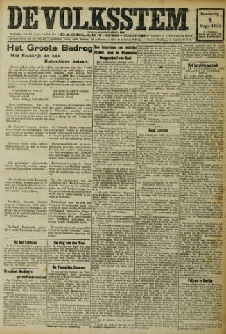 De Volksstem 1923-08-02