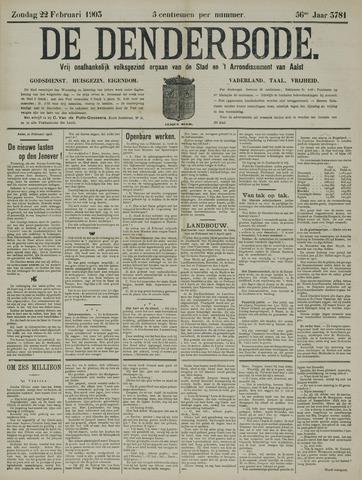 De Denderbode 1903-02-22