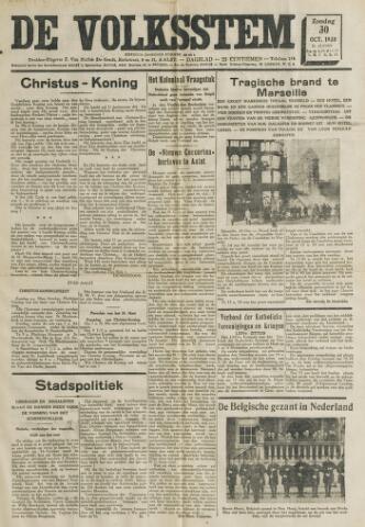 De Volksstem 1938-10-30