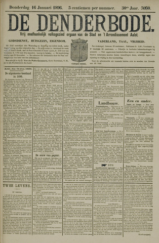 De Denderbode 1896-01-16