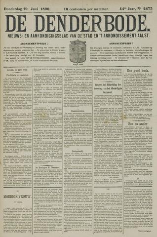 De Denderbode 1890-06-19