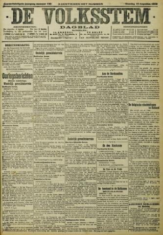 De Volksstem 1915-08-10