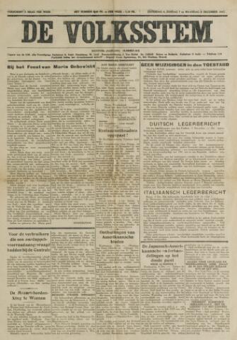 De Volksstem 1941-12-06