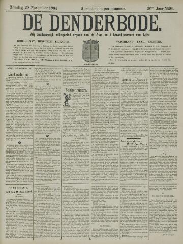 De Denderbode 1904-11-20
