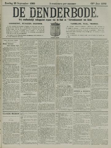 De Denderbode 1909-09-26