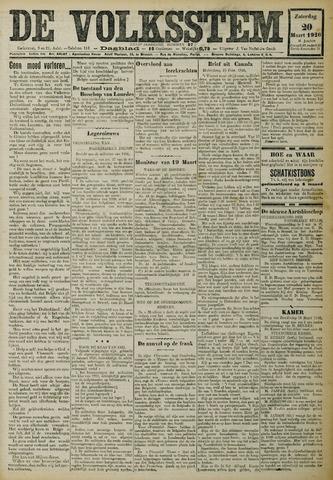 De Volksstem 1926-03-20