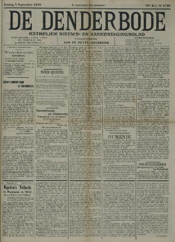 De Denderbode 1916-09-03