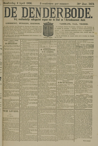 De Denderbode 1896-04-02