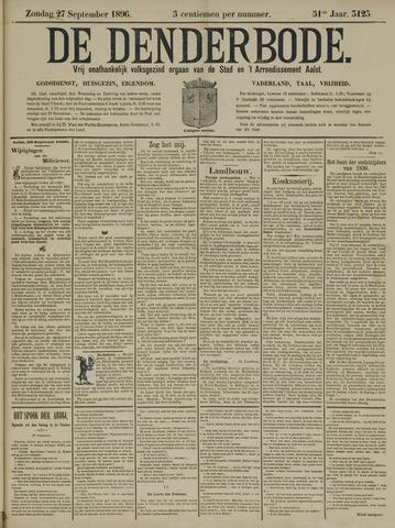 De Denderbode 1896-09-27