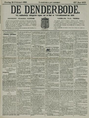 De Denderbode 1909-02-28
