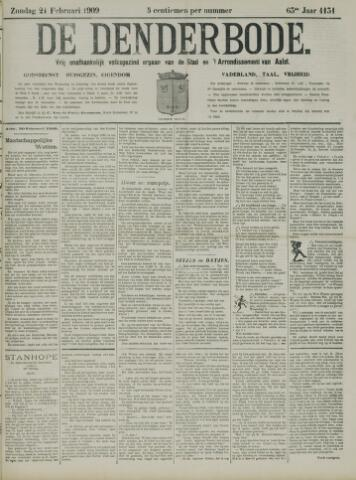 De Denderbode 1909-02-21