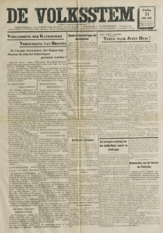 De Volksstem 1938-04-24
