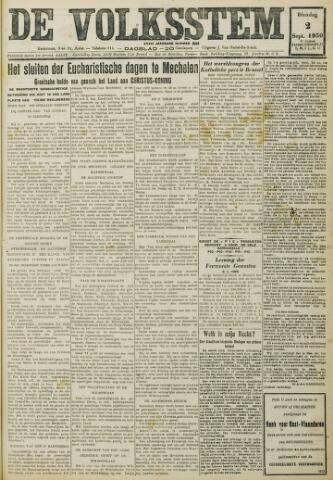 De Volksstem 1930-09-02