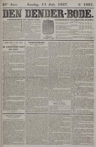 De Denderbode 1867-07-14