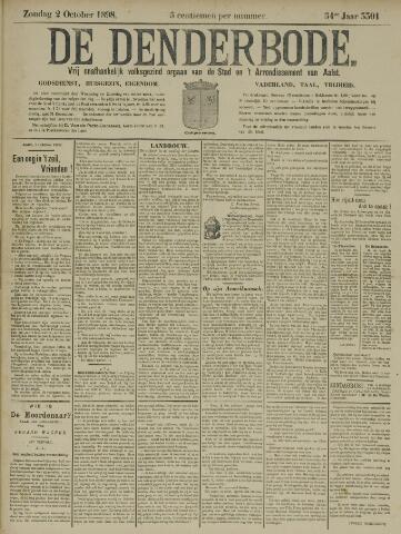 De Denderbode 1898-10-02