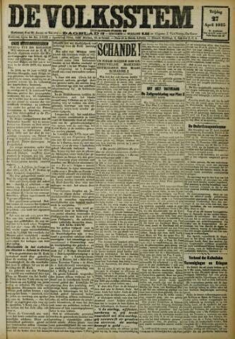 De Volksstem 1923-04-27