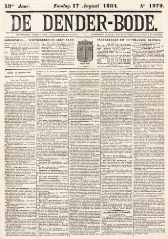 De Denderbode 1884-08-17