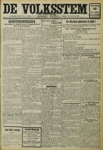 De Volksstem 1932-10-19