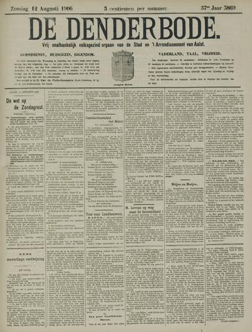 De Denderbode 1906-08-12