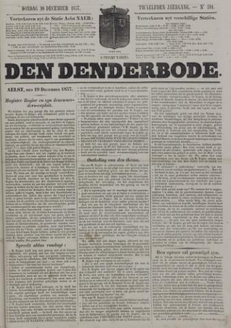 De Denderbode 1857-12-20