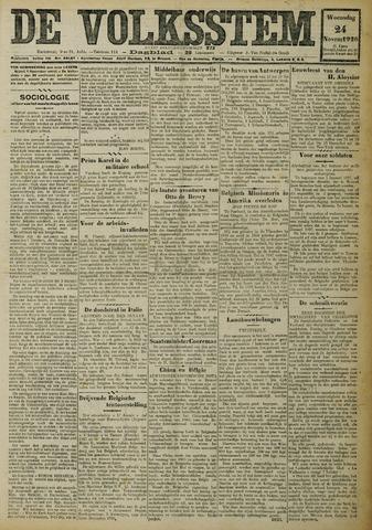 De Volksstem 1926-11-24