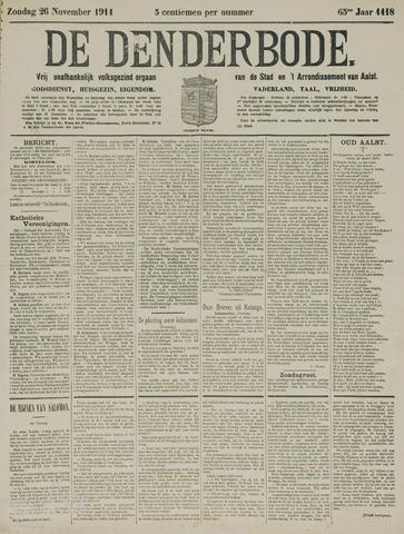 De Denderbode 1911-11-26