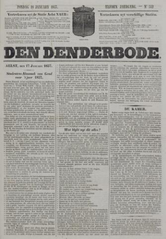 De Denderbode 1857-01-18