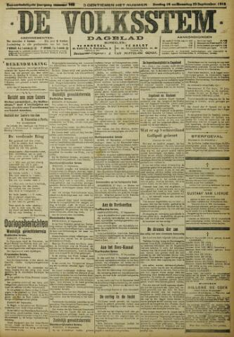 De Volksstem 1915-09-19