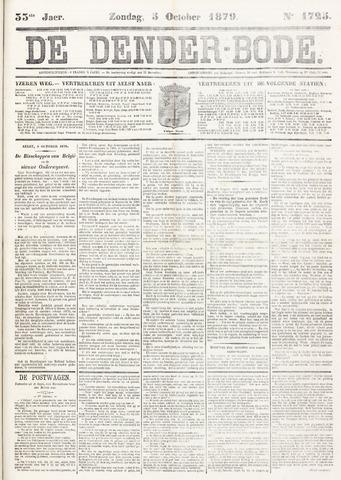 De Denderbode 1879-10-05