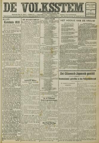 De Volksstem 1931-12-13