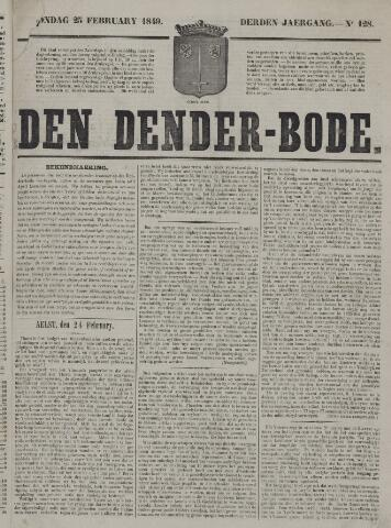 De Denderbode 1849-02-25