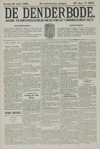 De Denderbode 1888-04-29