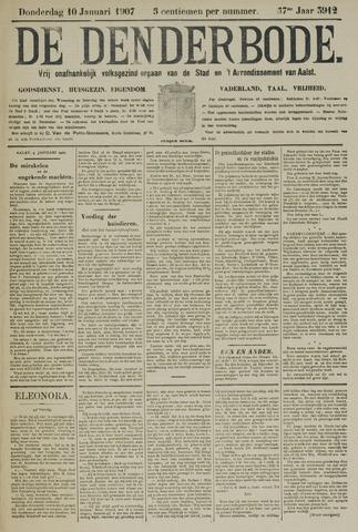 De Denderbode 1907-01-10