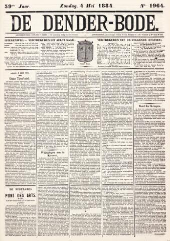 De Denderbode 1884-05-04