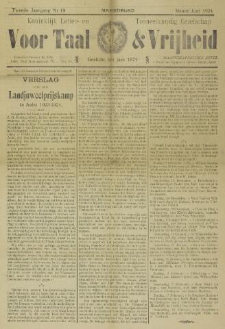 Voor Taal en Vrijheid 1922