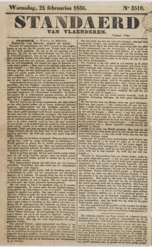 De Standaard van Vlaanderen 1836
