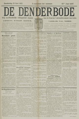De Denderbode 1912-06-13