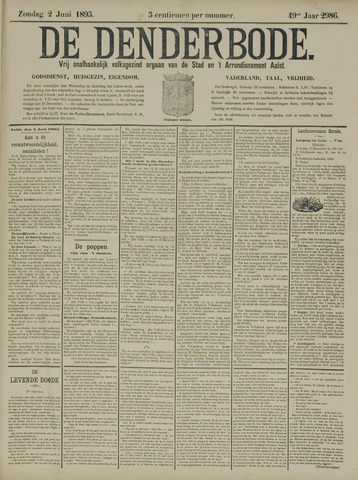 De Denderbode 1895-06-02