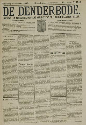 De Denderbode 1893-02-02