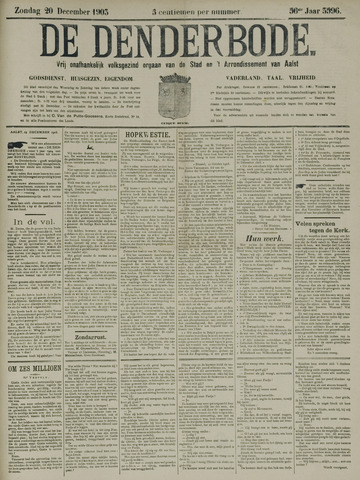 De Denderbode 1903-12-20