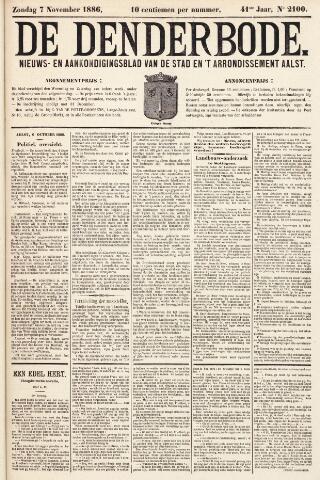 De Denderbode 1886-11-07