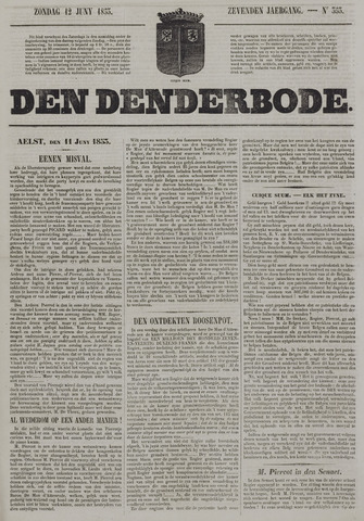 De Denderbode 1853-06-12