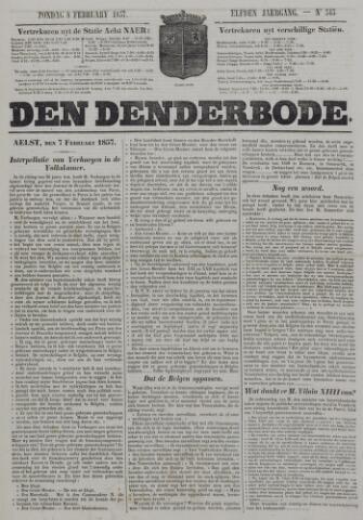 De Denderbode 1857-02-08