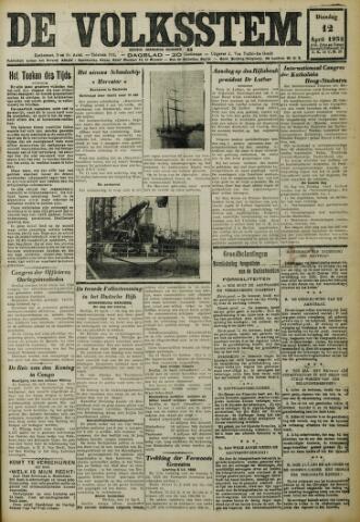 De Volksstem 1932-04-12