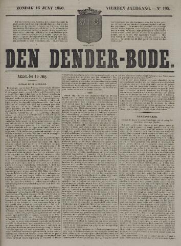 De Denderbode 1850-06-16