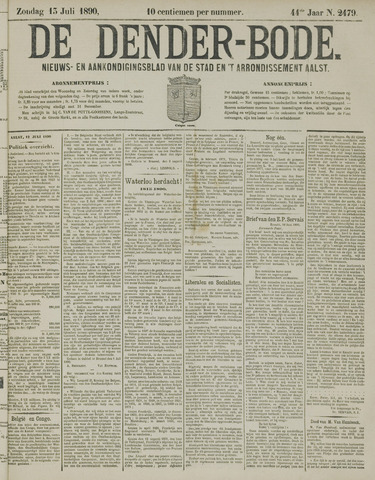 De Denderbode 1890-07-13