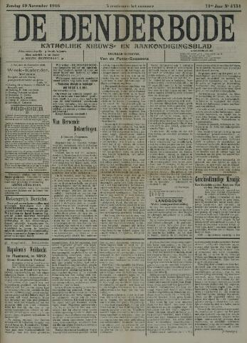 De Denderbode 1916-11-19