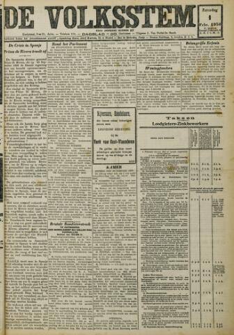 De Volksstem 1930-02-01