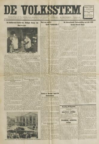 De Volksstem 1938-08-16